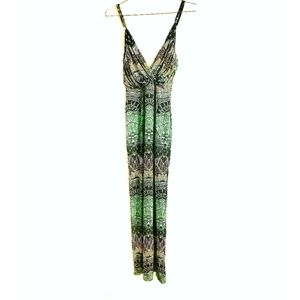MARA HOFFMAN Maxi Dress Print Cross Over